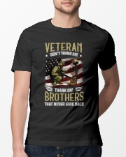 Dont Thank Me Thank My Brother Who Never Come Back Classic T-Shirt lifestyle-mens-crewneck-front-13