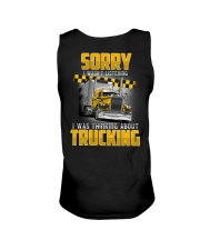 Trucker Clothes - Trucker Sorry I wasn't listening Unisex Tank thumbnail