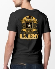 US Army -  Only Finest Men Served In US Army Classic T-Shirt lifestyle-mens-crewneck-back-5