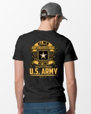 US Army -  Only Finest Men Served In US Army Classic T-Shirt lifestyle-mens-crewneck-back-6