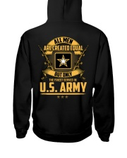US Army -  Only Finest Men Served In US Army Hooded Sweatshirt thumbnail