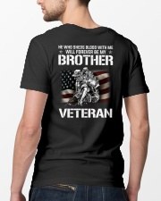 Brother veteran Classic T-Shirt lifestyle-mens-crewneck-back-5