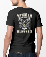 Being A Veteran Make Me Blessed Classic T-Shirt lifestyle-mens-crewneck-back-5