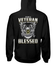 Being A Veteran Make Me Blessed Hooded Sweatshirt thumbnail