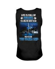 18 Wheels - Trucker - Life is full of risks Unisex Tank thumbnail