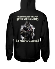 The Strongest Weapon Is A Patriotic American Hooded Sweatshirt thumbnail