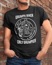Grumpa Biker Only Grumpier Classic T-Shirt apparel-classic-tshirt-lifestyle-26