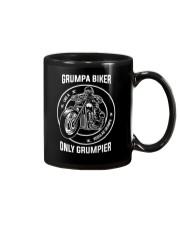 Grumpa Biker Only Grumpier Mug tile