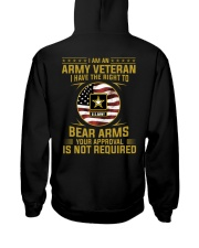I Am An Army Veteran Your Approval Is Not Required Hooded Sweatshirt thumbnail