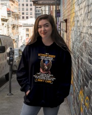 I Am A Veteran Daddy  Hooded Sweatshirt lifestyle-unisex-hoodie-front-1
