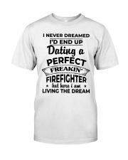 Shirts For Firefighter's Girlfriend-182U1D21108 Classic T-Shirt front