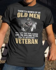 What is Necessary Veteran  Classic T-Shirt apparel-classic-tshirt-lifestyle-28