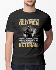 What is Necessary Veteran  Classic T-Shirt lifestyle-mens-crewneck-front-13