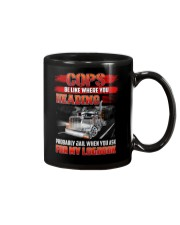 Trucker Tee Shirt - Be like where you heading Mug thumbnail