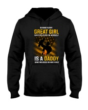 Behind Every Great Girl Is Daddy  Hooded Sweatshirt thumbnail