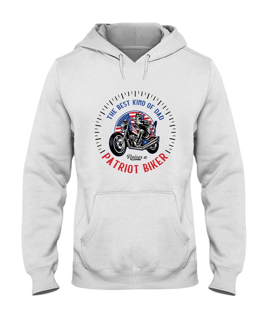 Patriot Biker Dad Black Speedometer  Hooded Sweatshirt