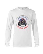 Patriot Biker Dad Black Speedometer  Long Sleeve Tee thumbnail