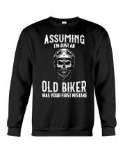 ASSUMING IM JUST AN OLD BIKER Crewneck Sweatshirt thumbnail