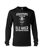 ASSUMING IM JUST AN OLD BIKER Long Sleeve Tee thumbnail