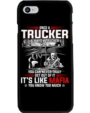 Trucker clothes-Once a Trucker always be a trucker Phone Case thumbnail