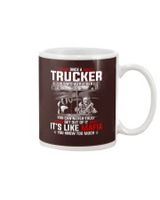 Trucker clothes-Once a Trucker always be a trucker Mug thumbnail