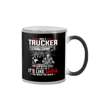 Trucker clothes-Once a Trucker always be a trucker Color Changing Mug thumbnail