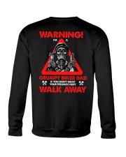 WARNING GRUMPY BIKER DAD Crewneck Sweatshirt thumbnail