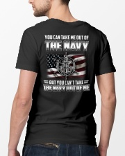 You Can't Take The Navy Out Of Me Classic T-Shirt lifestyle-mens-crewneck-back-5