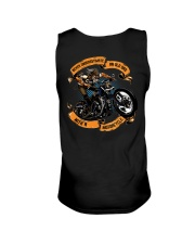 Never underestimate an OLD DAD with a MOTORCYCLE Unisex Tank thumbnail
