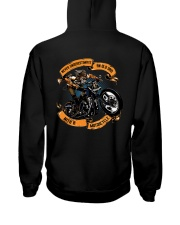 Never underestimate an OLD DAD with a MOTORCYCLE Hooded Sweatshirt thumbnail