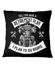 Biker Clothes Retirement Plan Square Pillowcase tile