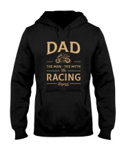 DAD The Man The Myth The Racing Legend Hooded Sweatshirt thumbnail