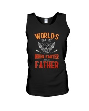 World's great BIKER FARTER I mean FATHER Unisex Tank thumbnail