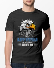 I Am A Navy Veteran Like My Grandpa Before Me Classic T-Shirt lifestyle-mens-crewneck-front-13