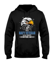 I Am A Navy Veteran Like My Grandpa Before Me Hooded Sweatshirt thumbnail