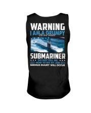 Warning I Am A Grumpy Submariner  Unisex Tank thumbnail