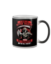 Is There Life After Death Color Changing Mug thumbnail