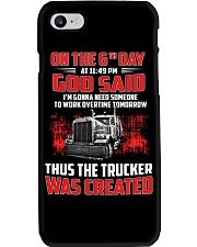 Thus the Trucker was created Phone Case thumbnail