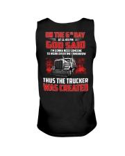 Thus the Trucker was created Unisex Tank thumbnail