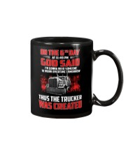 Thus the Trucker was created Mug thumbnail