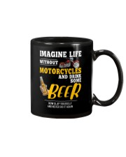 Imagine Life Without Motorcycle And Drink Some Bee Mug thumbnail