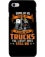Some of us grew up playing with dump trucks Phone Case thumbnail