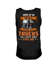 Some of us grew up playing with dump trucks Unisex Tank thumbnail
