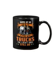 Some of us grew up playing with dump trucks Mug thumbnail