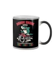 Daddy Shark Riding Color Changing Mug thumbnail