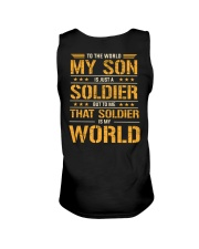 To The World My Son Is Just A Soldier  Unisex Tank thumbnail