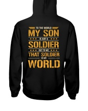 To The World My Son Is Just A Soldier  Hooded Sweatshirt thumbnail