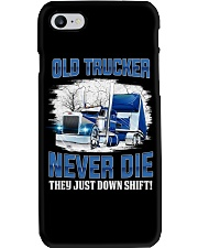 OLD TRUCKER NEVER DIE Phone Case thumbnail