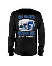 OLD TRUCKER NEVER DIE Long Sleeve Tee thumbnail