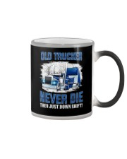 OLD TRUCKER NEVER DIE Color Changing Mug thumbnail